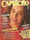 Livia on the cover of Capricho (Brazil) - September 1981