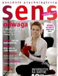 Justyna Pochanke on the cover of Sens (Poland) - February 2009