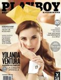 Yolanda Ventura on the cover of Playboy (Mexico) - April 2013