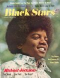 Michael Jackson on the cover of Black Stars (United States) - September 1972