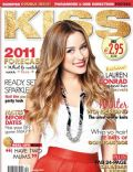 Lauren Conrad on the cover of Kiss (Ireland) - February 2011