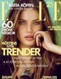 Frederikke Winther on the cover of Elle (Sweden) - August 2013