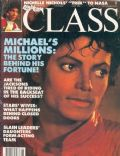 Michael Jackson on the cover of Right On (United States) - June 1984