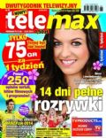 Anna Stachurska on the cover of Tele Max (Poland) - June 2014