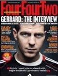 Steven Gerrard on the cover of Four Four Two (United Kingdom) - December 2009