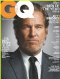 Jeff Bridges on the cover of Gq (United States) - December 2010