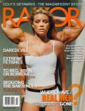 Peta Wilson on the cover of Razor (United States) - February 2003