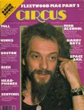 Ian Anderson on the cover of Circus (United States) - April 1977