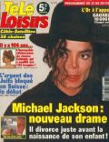 Michael Jackson on the cover of Tele Loisirs (France) - February 1997