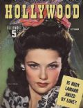 on the cover of Hollywood (United States) - September 1942