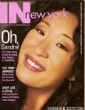 Sandra Oh on the cover of In New York (United States) - June 2006