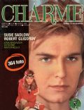 Robert Gligorov on the cover of Charme (Italy) - August 1980