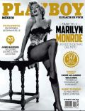 Marilyn Monroe on the cover of Playboy (Mexico) - December 2012