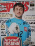 Lukasz Fabianski on the cover of Pi Ka No Na Plus (Poland) - July 2007