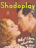 Anna Sten, Gary Cooper on the cover of Shadoplay Magazine (United States) - May 1935