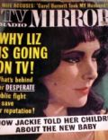 Elizabeth Taylor on the cover of TV Radio Mirror (United States) - August 1963