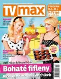Nicole Richie, Paris Hilton on the cover of TV Max (Czech Republic) - January 2013