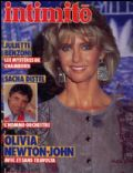 Olivia Newton-John on the cover of Intimite (France) - March 1984