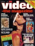 Olivia Newton-John on the cover of Video The Magazine (United Kingdom) - July 1983