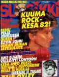 Olivia Newton-John on the cover of Suosikki (Finland) - June 1982
