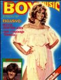 Olivia Newton-John on the cover of Boy Music (Italy) - December 1980