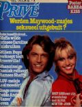Olivia Newton-John on the cover of Prive (Netherlands) - December 1980