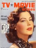 Ava Gardner on the cover of TV Movie Screen (United States) - September 1957
