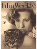 Binnie Barnes on the cover of Film Weekly (United Kingdom) - January 1933