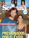 Facundo Arana, Facundo Arana and Isabel Macedo, Isabel Macedo on the cover of Semana (Argentina) - February 2006
