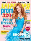 Bella Thorne on the cover of Seventeen Prom (United States) - February 2013