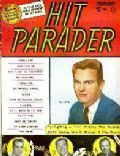 Tab Hunter on the cover of Hit Parader (United States) - February 1957