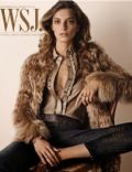 Daria Werbowy on the cover of Wsj (United States) - September 2014