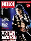 Michael Jackson on the cover of Hello (Bulgaria) - June 2011