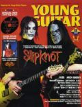 James Root, Mick Thomson on the cover of Young Guitar (Japan) - August 2004