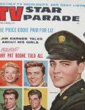 Elvis Presley on the cover of TV Star Parade (United States) - April 1959