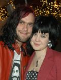 Kelly Osbourne and Bert McCracken