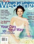 Debra Messing on the cover of Instyle Weddings (United States) - April 2000