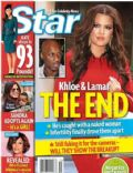 Khloé Kardashian, Lamar Odom on the cover of Star (United States) - April 2012