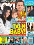 Kourtney Kardashian, Scott Disick on the cover of Ok (United States) - January 2012