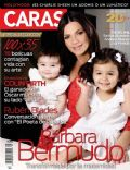 Barbara Bermudo on the cover of Caras (Puerto Rico) - May 2011