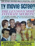 Dianne Lennon on the cover of TV and Movie Screen (United States) - October 1967
