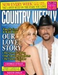 Faith Hill, Faith Hill and Tim McGraw, Tim McGraw on the cover of Country Weekly (United States) - July 2009