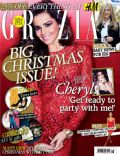 Cheryl Cole on the cover of Grazia (United Kingdom) - December 2012