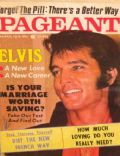Elvis Presley on the cover of Pageant (United States) - March 1974
