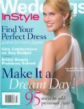 Stephanie March on the cover of Instyle Weddings (United States) - June 2004