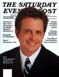 Michael J. Fox on the cover of The Saturday Evening Post (United States) - October 2000