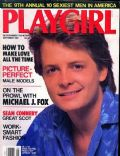 Michael J. Fox on the cover of Playgirl (United States) - September 1987
