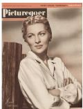 Joan Fontaine on the cover of Picturegoer (United Kingdom) - September 1947