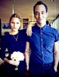 Albert Hammond Jr. and Justyna Sroka