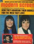 Cher, Liza Minnelli on the cover of Modern Screen (United States) - August 1972